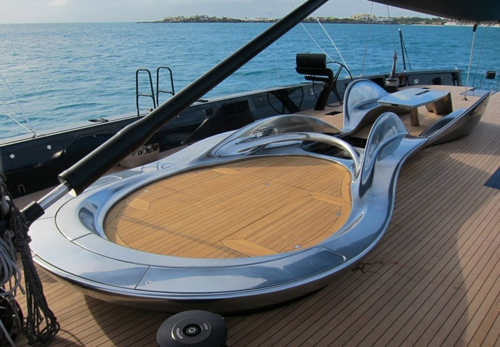 Deck design for a top racing Wally Yacht - AL_A - Deck ...