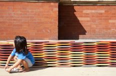 Challenging perceptions of materiality, form and function with Bench of Plates