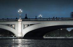 Six schemes shortlisted to light up London's bridges