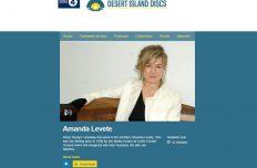 Amanda on BBC Radio 4's Desert Island Discs