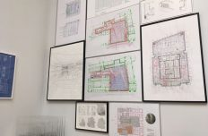 AL_A's drawings of the V&A at the Royal Academy Summer Exhibition