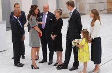 HRH Duchess of Cambridge opens V&A Exhibition Road Quarter